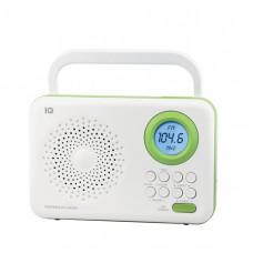 Φορητό Ραδιόφωνο iQ PR-138 Λευκό-Πράσινο
